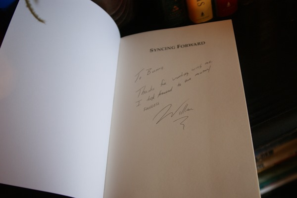 Syncing Forward signed copy by W Lawrence