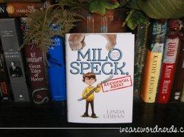 Milo Speck, Accidental Agent | wearewordnerds.com