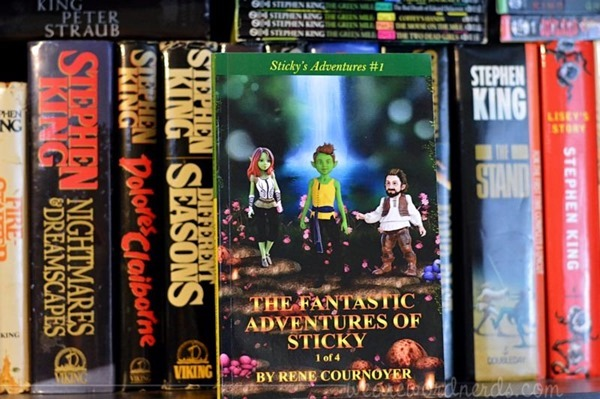 The Fantastic Adventures of Sticky (Volume 1) by Rene Cournoyer
