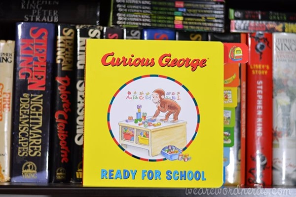 Curious George Ready for School (tabbed board book) by H. A. Rey