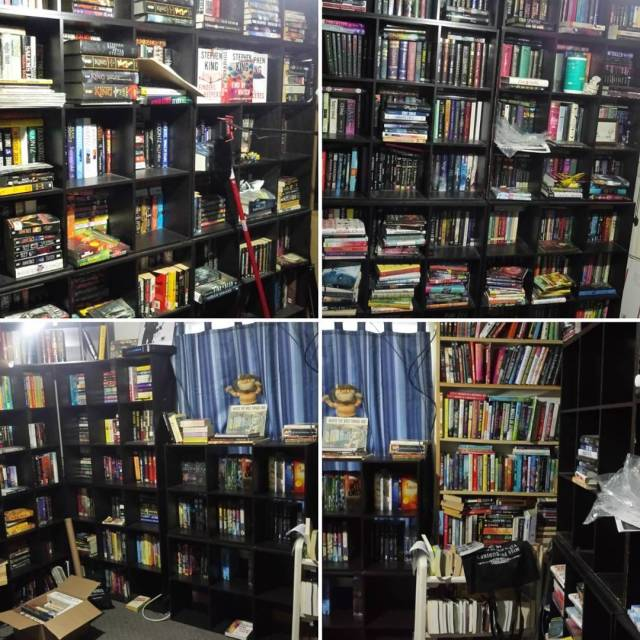 Book room update! Its a work in progress! books bookstagramhellip