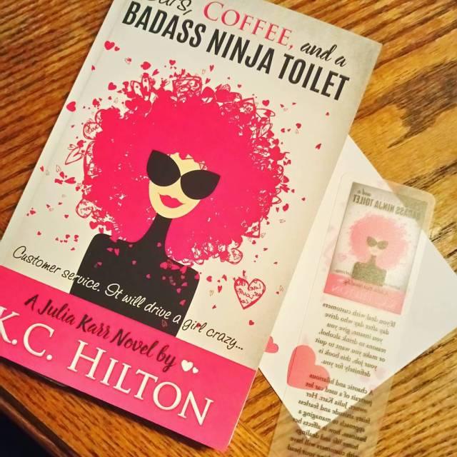 inmymailbox today! books bookstagrambooksofinstagram juliakarr ninjatoilets reading booknerdigan hilarious