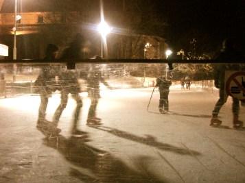 Ice skating in Tallinn