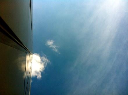 Wolkenfleck über Berlin