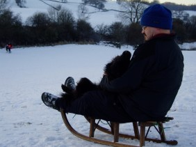 Sledging was not a favourite