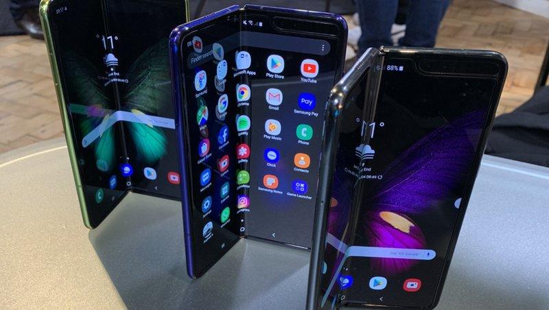 Samsung stelt uutgave Galaxy Fold uut