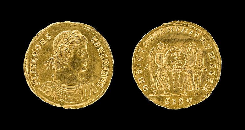 Guldene römiske münte in Noorddüütskland vunden – Vröögste archäologiske nåwys van eyn sassiske elite