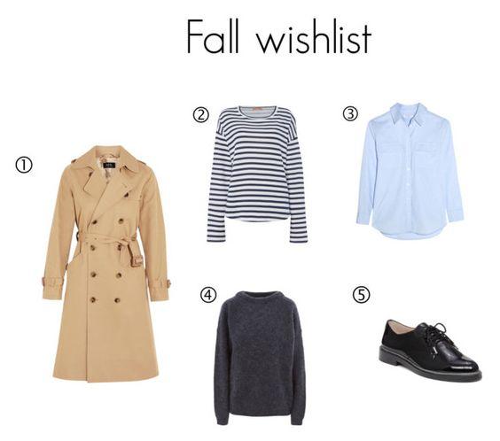 wish list fall