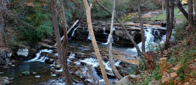 Friendly Falls Waterfall Dining