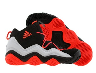 adidas Top Ten 2000 - Black  Running White  Infrared - WearTesters 4163b4c3d