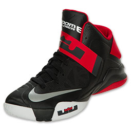 pretty nice 0f708 fa551 Nike LeBron Zoom Soldier VI (6) Black  White- University Red – Available Now