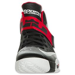 4955301f380d Nike LeBron Zoom Soldier VI (6) Black  White- University Red ...