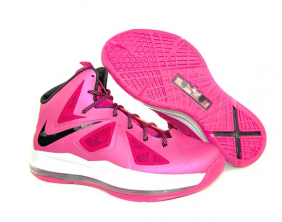 new concept debb0 b8dc9 Nike-LeBron-X-(10)-GS- Fireberry -Available-Now-3