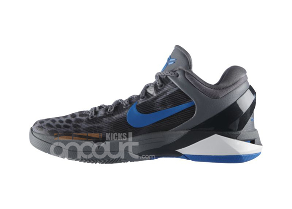 7b4b1a92bf02 Nike Zoom Kobe VII (7)  Cheetah  Wolf Grey  Photo Blue- Black Cool ...