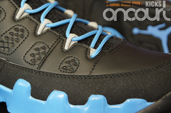 098186376cc1ca Air-Jordan-IX-(9)-Retro-Black-Matt-Silver-University-Blue- Slim ...