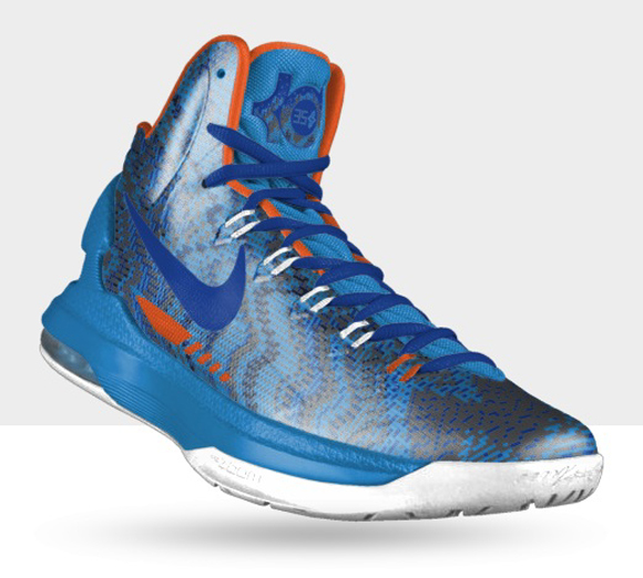quality design 78980 75df1 nikeid kd v 5 christmas option