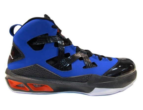 Air Jordan Melo M9 Game Royal  Black - Orange - Available Now ... a5b0115725