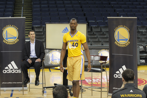 adidas- -the-Golden-State-Warriors-Debut-First-Ever-Modern-Short-Sleeve-NBA- Uniforms-Event-Recap-5 99553af4f