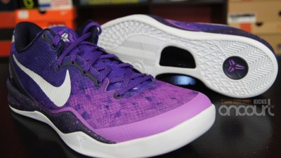 buy popular 78808 16509 Nike Kobe 8 SYSTEM  Purple Gradient  – Detailed Look   Review
