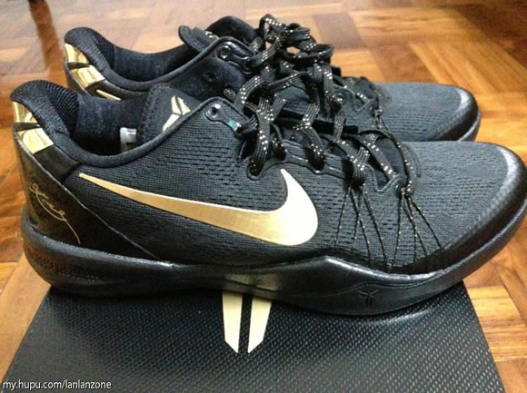 release date bd7af c6daa ... sale bb39c 0d328 Nike Kobe 8 SYSTEM Elite+ Black Gold - Another Look 1  ...