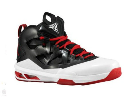 various colors e6c41 f4352 Jordan Melo M9 Black  White - Gym Red - Available Now - WearTesters