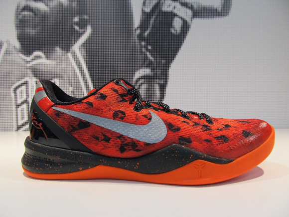 91a5ea5d8c4 Nike Kobe 8 SYSTEM  Challenge Red  - WearTesters