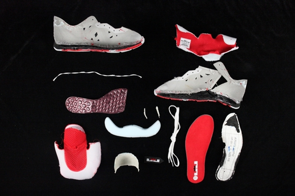 43cacd976697 Nike LeBron ST II Deconstructed - WearTesters