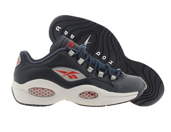bceeda28a83 Reebok Question Low Navy  Steel   Red - Silver - Available Now ...