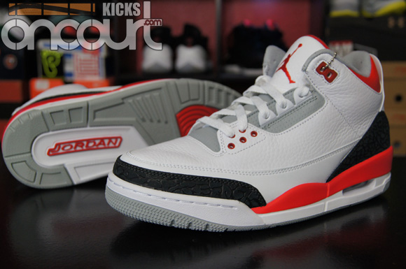 d99858f92ed0d4 Air Jordan 3 Retro  Fire Red  - Detailed Look   Review - WearTesters