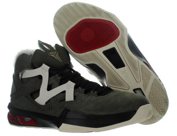 new style bc1ab c6387 Jordan Melo M9 Cargo Khaki Zinc Gym Red - Black - Available Now 4