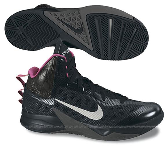 94dec0b6fdd7 Nike Hyperfuse 2013 Black  Pink - WearTesters