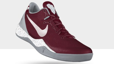 0d0edc3393b Nike Kobe 8 SYSTEM NIKEiD Solid Upper Option Available Now