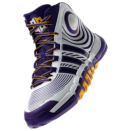 newest 13f99 76763 adidas D Howard 4 White Regal Purple - Available Now 1