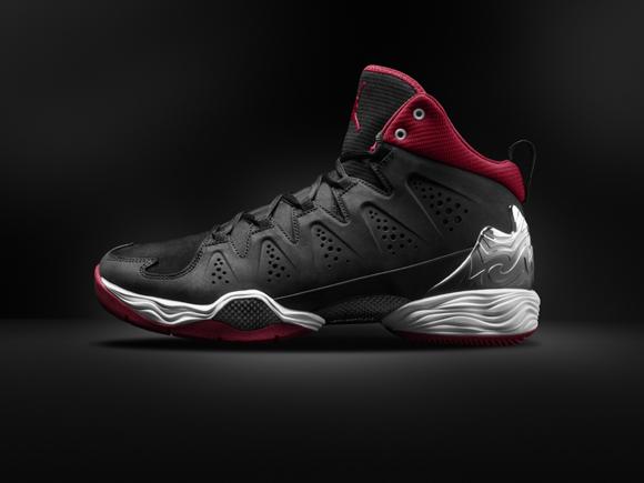 online retailer 64b83 9bf99 Jordan Melo M10 Black Red 1