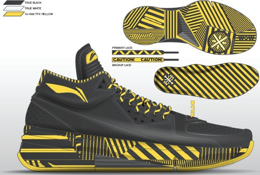 5291a762a1d6 Li-Ning Way of Wade 2.0  Caution  - WearTesters
