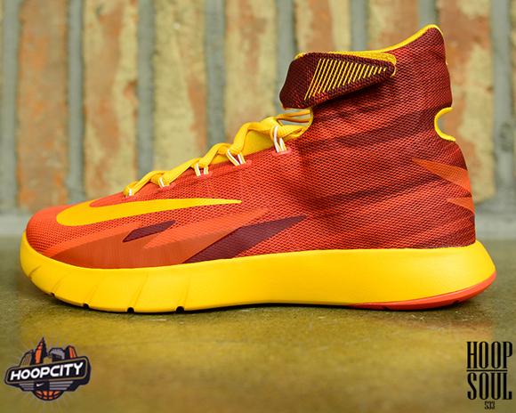 Nike Zoom Hyperrev Light Crimson University Gold - Team Red - Detailed Look  1 8bb532340