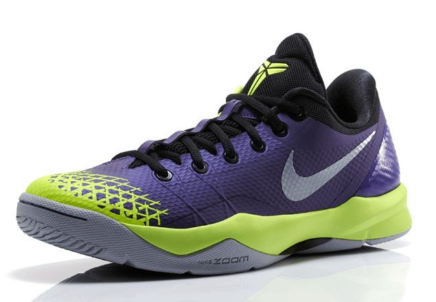 huge selection of 2a8bf e37a7 Nike Zoom Kobe Venomenon 4 Court Purple Wolf Grey - Volt 1