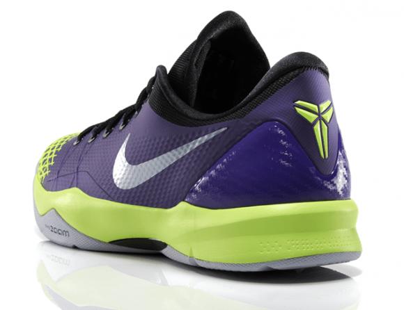 bd79b6825ff2 Nike Zoom Kobe Venomenon 4 Court Purple Wolf Grey - Volt 3 - WearTesters