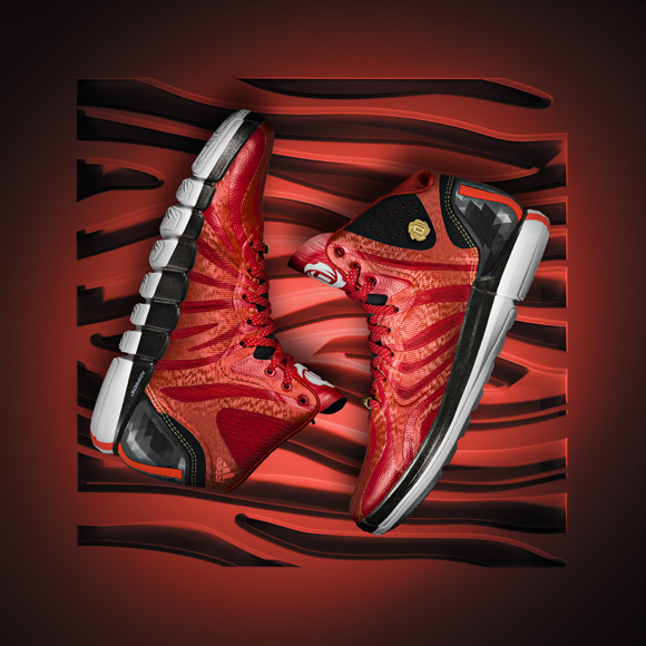 adidas D Rose 4.5  Scarlet  - Detailed Look - WearTesters bc7a67a87