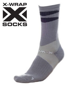 X-Wrap Basketball Socks by POINT 3 4