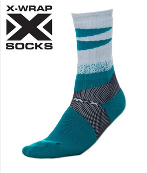 X-Wrap Basketball Socks by POINT 3 7