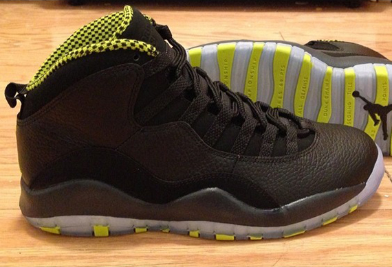 Air Jordan 10 Retro 'Venom Green' - First Look 1