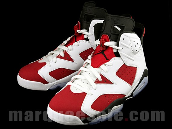 6d50921f600a Air Jordan 6  Carmine  - Release Info and Detailed Look - WearTesters