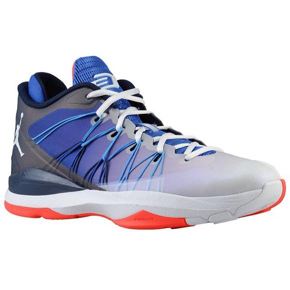 best website dce31 93aca Jordan CP3.VII AE White Blue - Orange