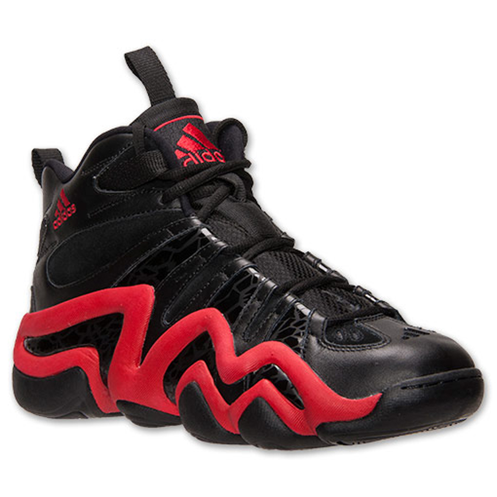 Adidas Crazy 8 Black Light Scarlet  Available Now