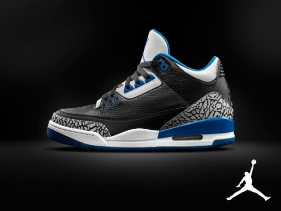 competitive price 8a375 6cf96 Air Jordan 3  Sport Blue - Official Look - WearTesters
