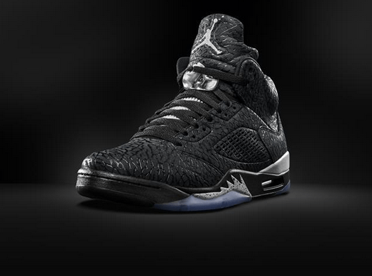 4d70df62b292 Air Jordan 3Lab5  Black Metallic  - WearTesters