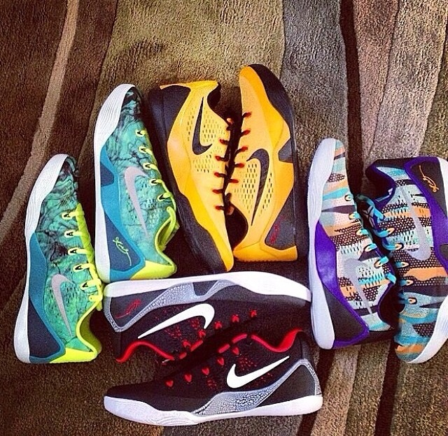 new style 0f315 d617c Kobe 9 EM upcoming colorways