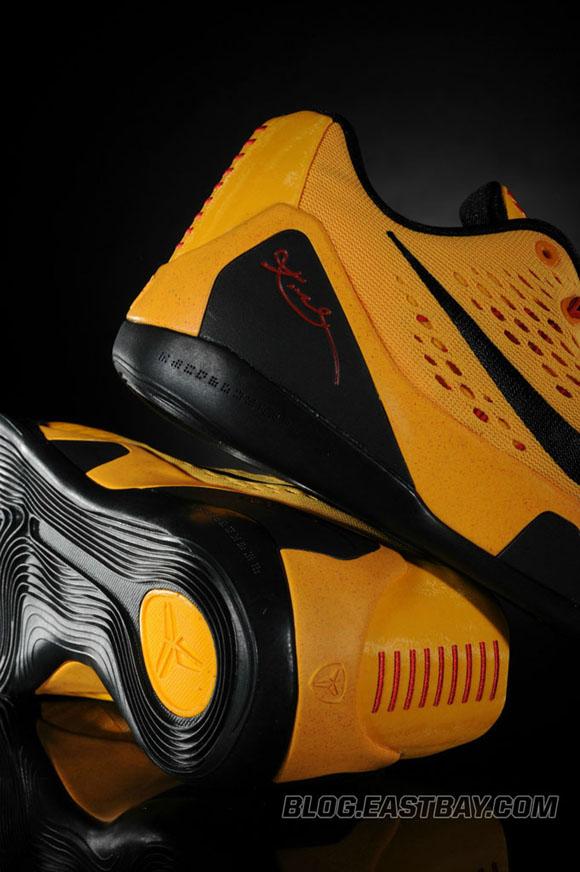 b8f4002c69e7 Nike Kobe 9 Low  Bruce Lee  - Detailed Look - WearTesters