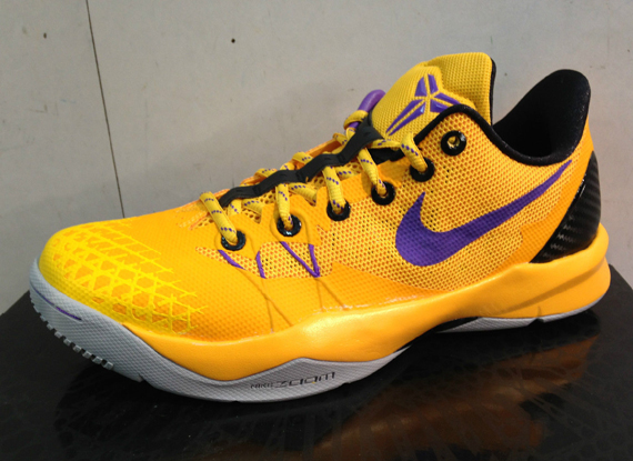 the latest 8d0f8 cf876 ... these are listed on Ebay now and you can go get them there. Nike Zoom  Kobe Venomenon IV  Lakers  - First ...